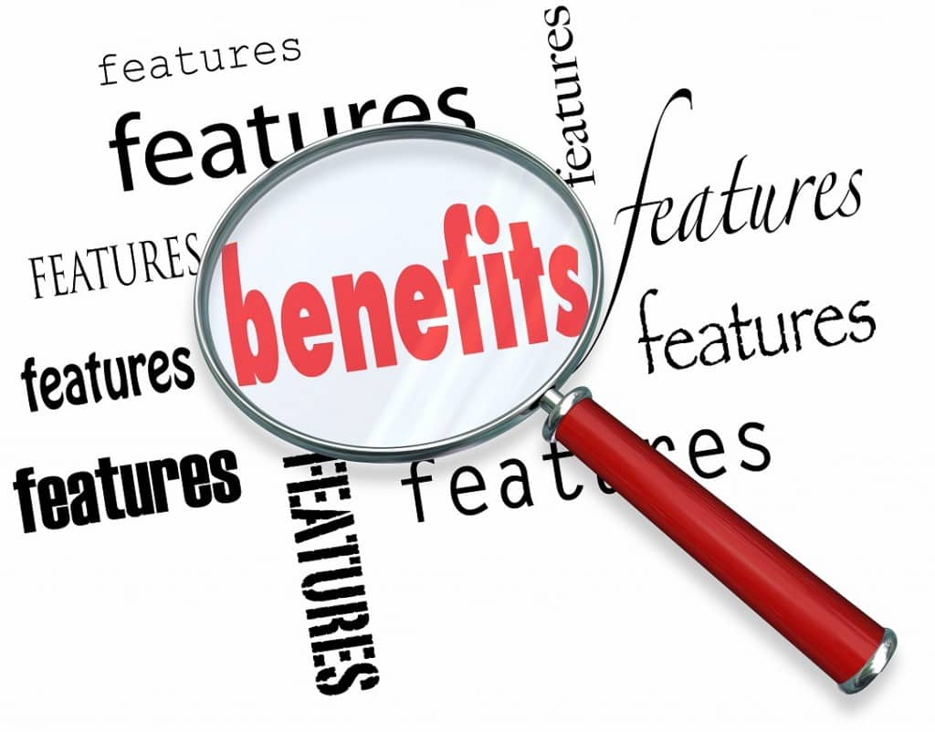 Features vs Benefits How to Sell Core Sales Principle