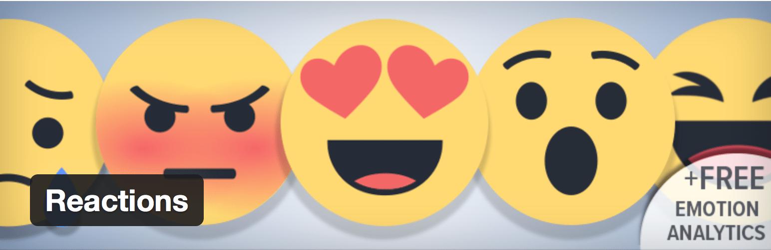 Présentation du plugin Réactions pour connaître ce que pensent vos lecteurs de vos articles