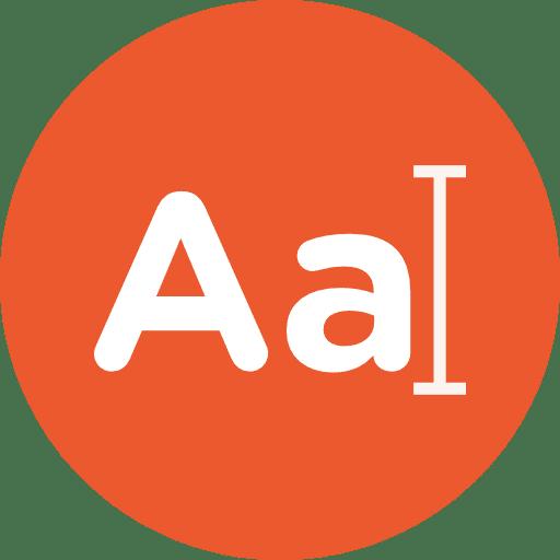 Lettre a en majuscule et minuscule