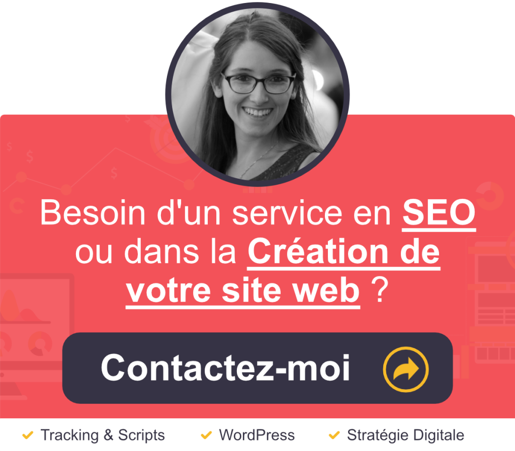 Bannière services en SEO / Wordpress et Marketing digital